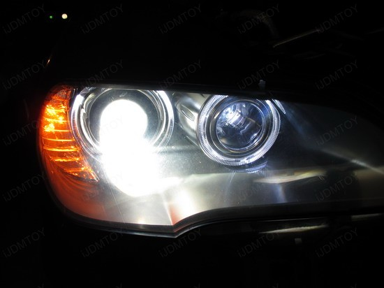BMW - X5 - H8 - LED - Angel - Eyes - 5